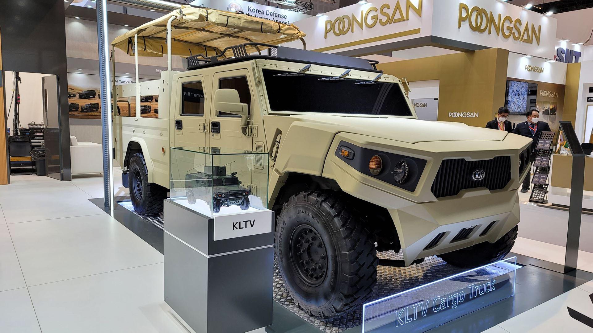 Kia showcases new defense vehicle technologies at IDEX 2021 defense exhibition - Image 3