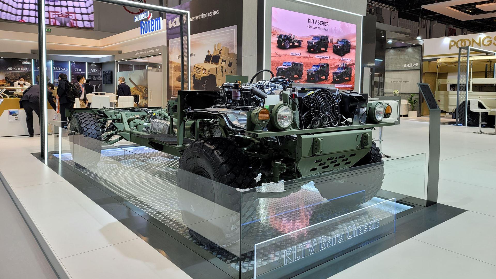 Kia showcases new defense vehicle technologies at IDEX 2021 defense exhibition - Image 2