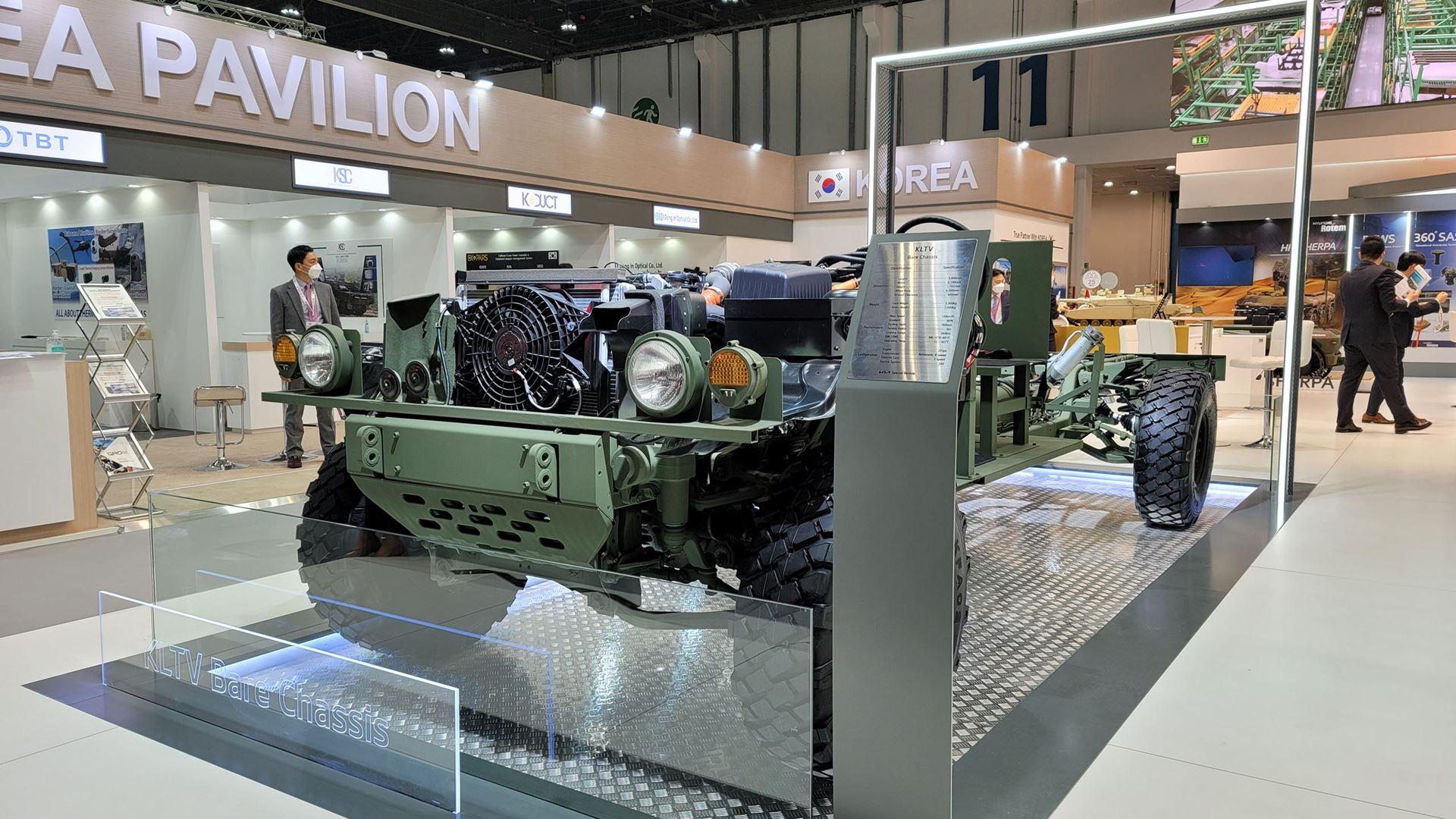 Kia showcases new defense vehicle technologies at IDEX 2021 defense exhibition - Image 1