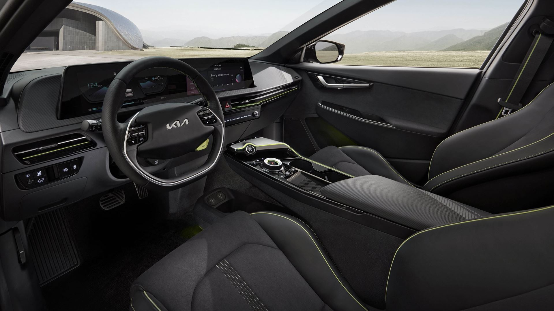 Kia EV6 redefines boundaries of electric mobility with inspiring design, exhilarating performance and innovative space - Image 5