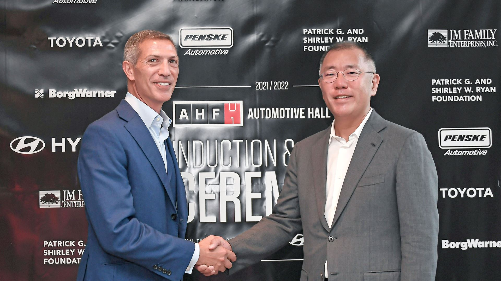 Hyundai Motor Group Honorary Chairman Mong-Koo Chung Inducted Into Automotive Hall of Fame at Official Ceremony - Image 4