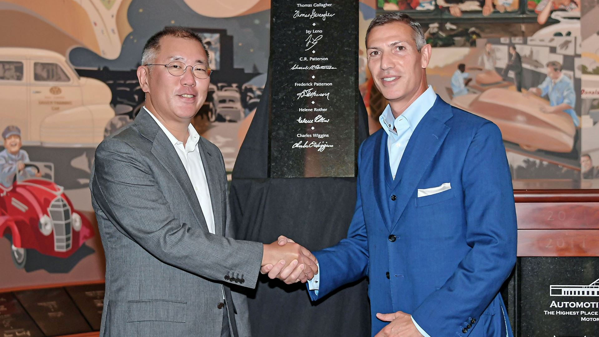 Hyundai Motor Group Honorary Chairman Mong-Koo Chung Inducted Into Automotive Hall of Fame at Official Ceremony - Image 5