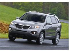 "2011 Kia Sorento Named One of the ""Best Family Cars of 2011"" by Parents Magazine and Edmunds.com"