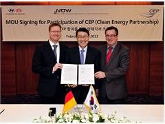 Kia Motors intends to join the Clean Energy Partnership to promote Fuel Cell Electric Vehicles in Germany