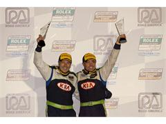 Kia Racing Captures Second Grand-Am Victory at Road America and Moves to the Top of the Team and Driver Standings