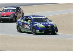 Kia Racing Enters Ninth Round of the Continental Tire Sports Car Challenge at New Jersey Motorsports Park Atop the Street Tuner Driver and Team Standings