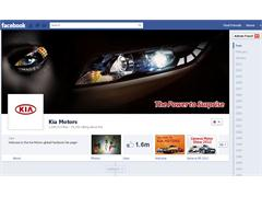 Kia Launches New Global Facebook Page to Forge Deeper Connections in the Social Era