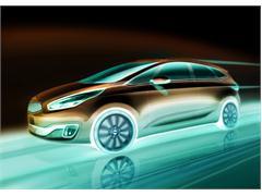 All-New Kia Carens to Premiere at Paris Show
