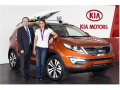 Olympic Medallist Joins the Kia family