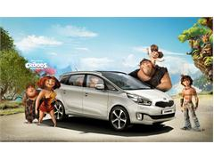 DreamWorks Animation's The Croods Hit the Road in Kia Motors' Stylishly New Kia Carens