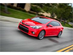 Kia unveils all-new turbocharged Forte (Cerato) Koup at New York Auto Show