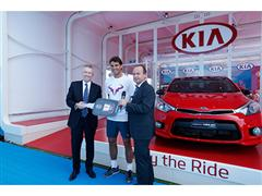 Kia Keeps the Wheels Turning at Australian Open