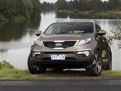 Stylish Sportage Wins OzRoamer Award