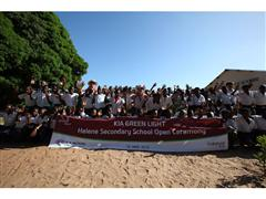 Kia launches new 'Green Light Project' in Mozambique, Africa