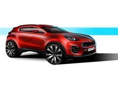 Dynamic energy: The next-generation Kia Sportage