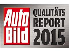 Kia takes first place in Auto Bild magazine's Quality Report 2015