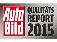 Kia takes first place in Auto Bild magazine's Quality Report 2015