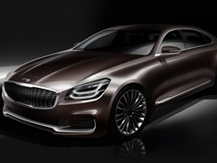 Kia Previews Design of New K900 Ahead of World Debut