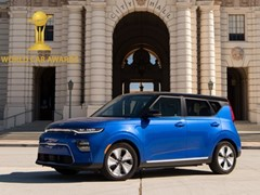 Kia Soul EV and Telluride win 2020 World Car Awards
