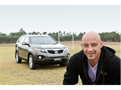 Mark Geyer and Kia Sorento