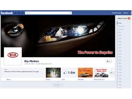 Kia Motors Facebook Cover Page