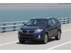 Upgraded Kia Sorento Driving (front)