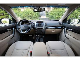Upgraded Kia Sorento Driving (dash)