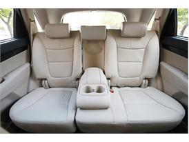 Upgraded Kia Sorento Driving (rear seat)