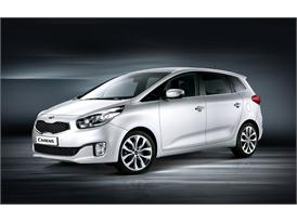 All-new Kia Carens (front quarter)