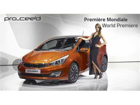Kia at Paris Auto Show