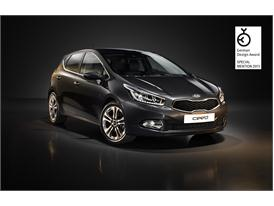 Kia cee'd acclaimed at German Design Award 2013