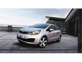 Kia Rio Best Selling Overseas Model in 2012
