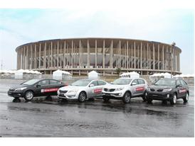 Kia Motors ensures smooth transportation with fleet for 2013 FIFA Confederations Cup