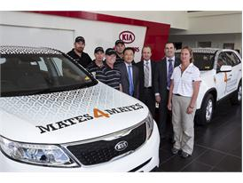 Kia stands by Mates4Mates