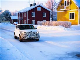 Kia Soul EV Winter Testing 4