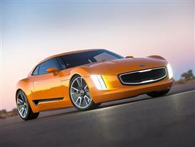 Kia at Geneva Motor Show (GT4 Stinger Concept)