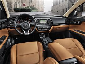Kia K4 (interior)