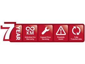 7 Year Warranty Logo Kia