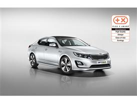 Kia Optima HEV Plus X Award