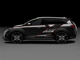 Kia X-Car (Side)
