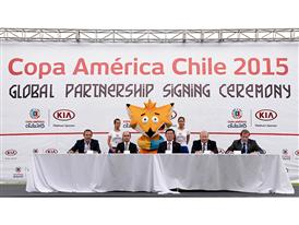 Kia Motors partners with Copa América Chile 2015 1