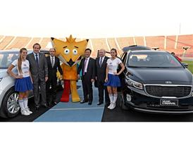 Kia Motors partners with Copa América Chile 2015 2