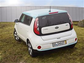 Kia Soul EV Side Back