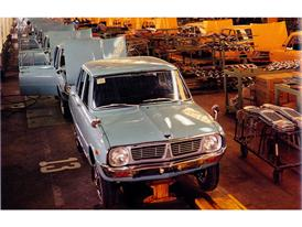 Kia Brisa Production