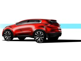 Next Generation Kia Sportage 2