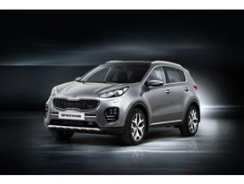 All-New Sportage Front Quarter General Markets