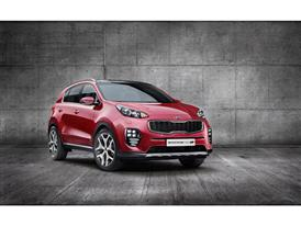 All-New Kia Sportage Front Quarter Europe