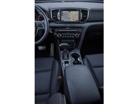 All-New Kia Sportage Center Console Europe
