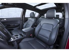 All-New Kia Sportage (interior seats)