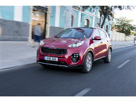 New Sportage Exterior Dynamic Front 02
